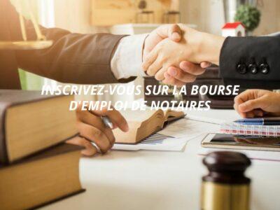 Trouver un emploi notarial en toute facilité sur un site adéquat