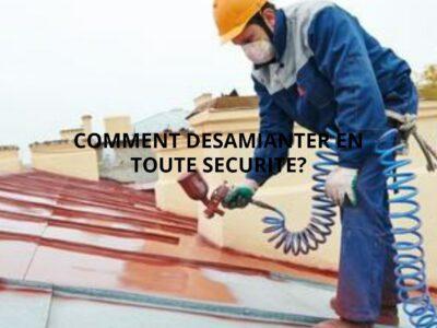 Désamianter votre toiture avec toutes les précautions nécessaires