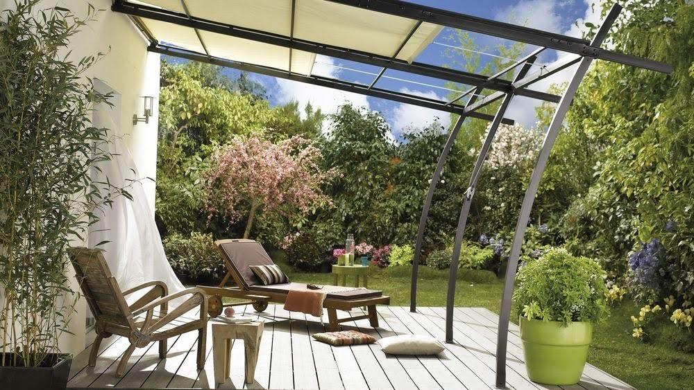 jardin avec veranda