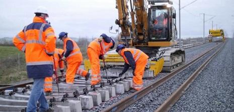 travaux chemin de fer